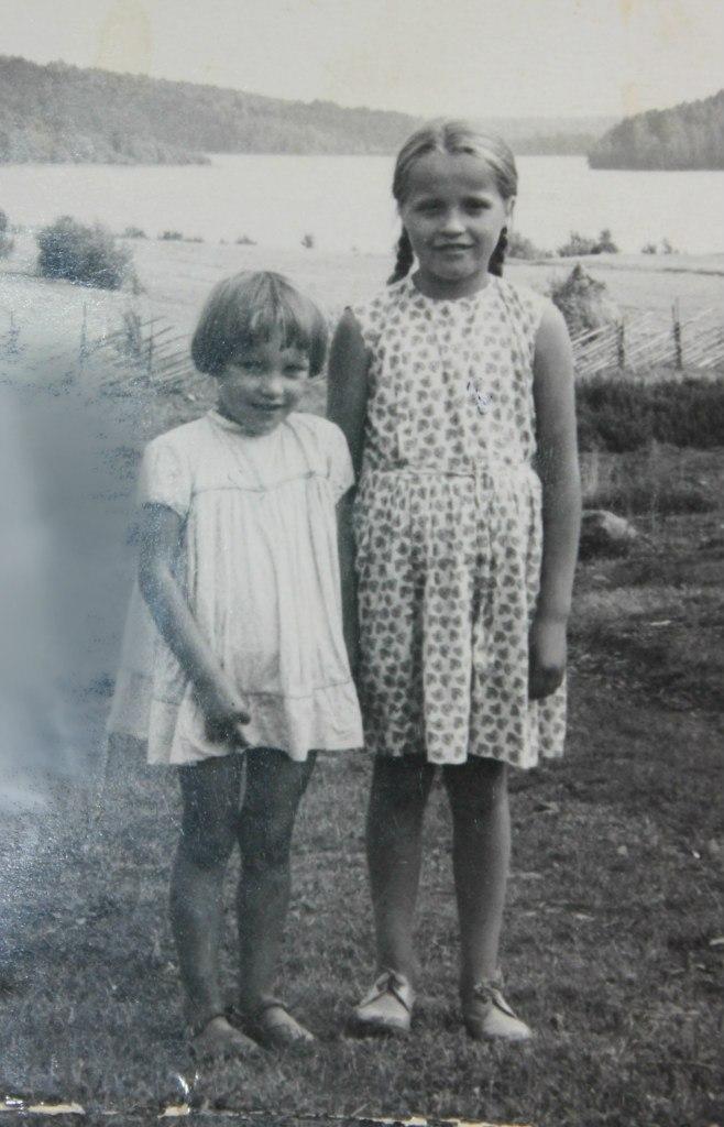 Валентина и Татьяна Викулины. (1967)