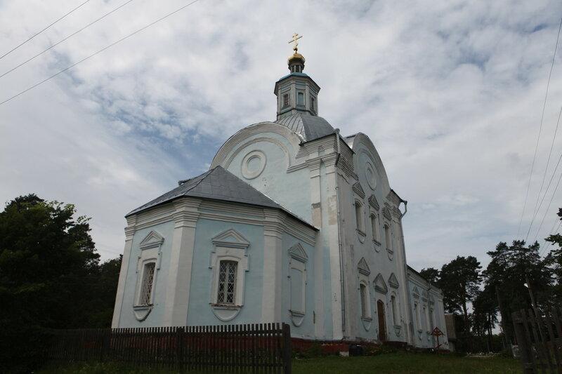 Поселок Пржвальское в Смоленском Поозерье, Церковь Вознесения Господня