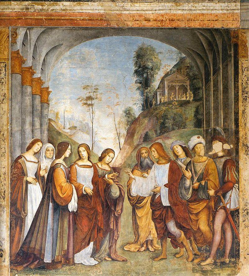 800px-Francesco_Francia,_Oratorio_di_Santa_Cecilia,_the_Marriage_of_Cecilia_and_Valerian1504-1506.jpg