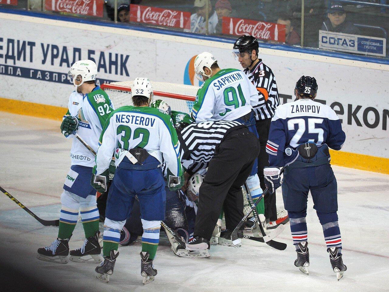 16Плей-офф 2016 Восток Финал Металлург - Салават Юлаев 25.03.2016