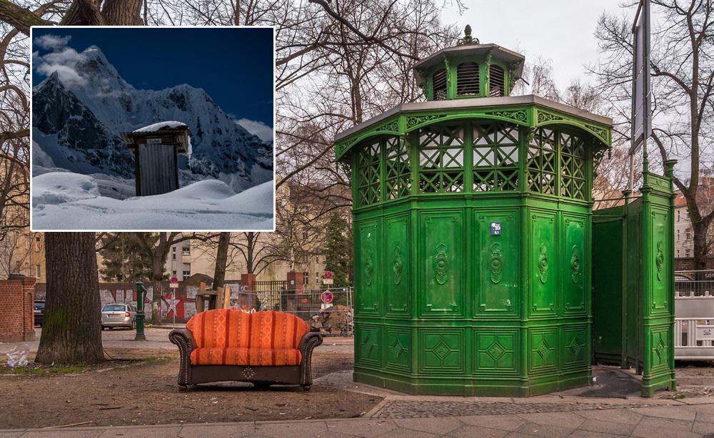 Удивительные туалеты в разных уголках планеты