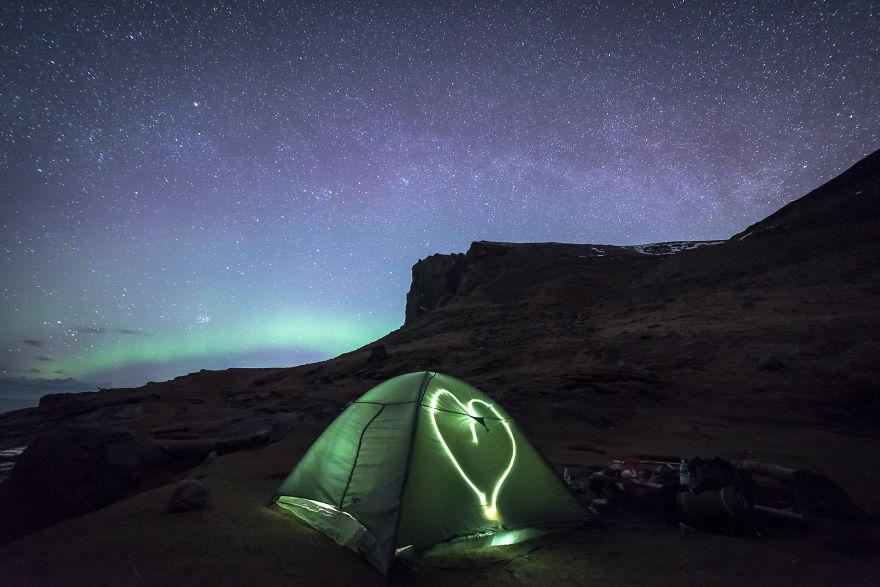 «Отель» с пятью миллиардами звезд в Норвегии