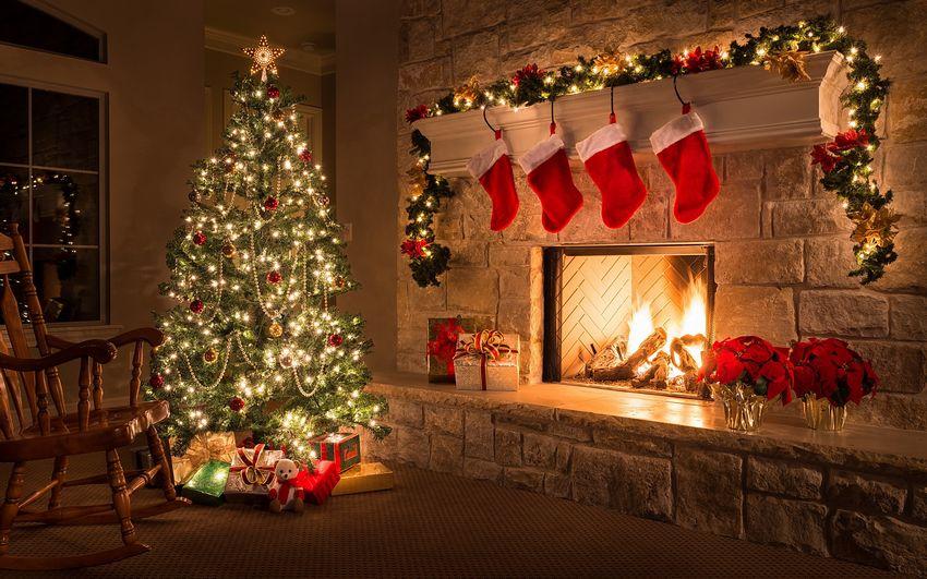 Новый год Рождество Ёлка