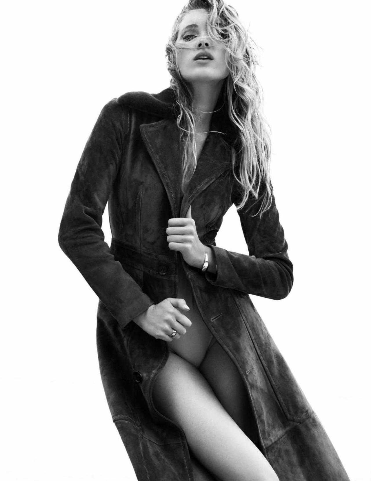 Elsa Hosk by Greg Kadel Vogue Spain July 2016