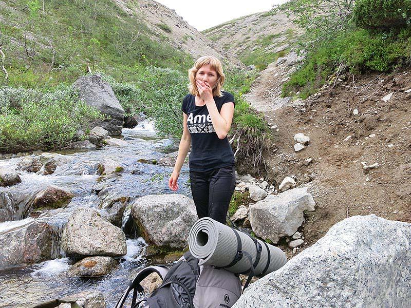 Вода из ручья
