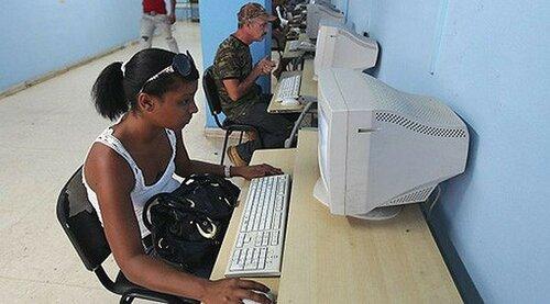 Старое интернет-кафе на Кубе