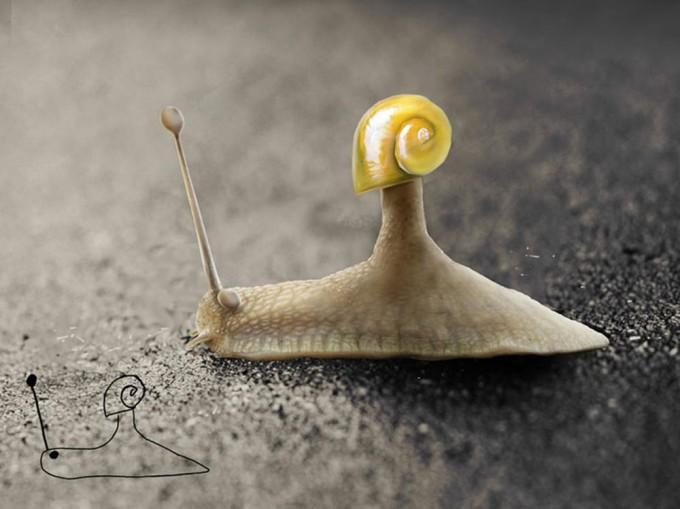 Тельмо Пипер обновил свои детские рисунки через 20 лет