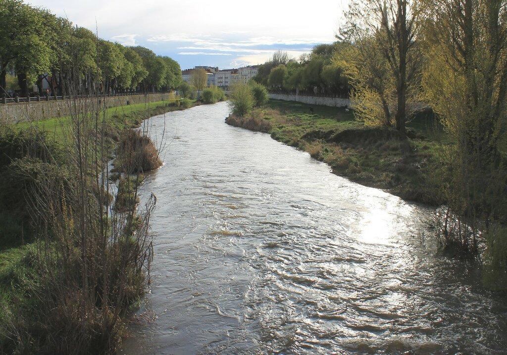 Бургос. Река Арлансон (Río Arlanzón)