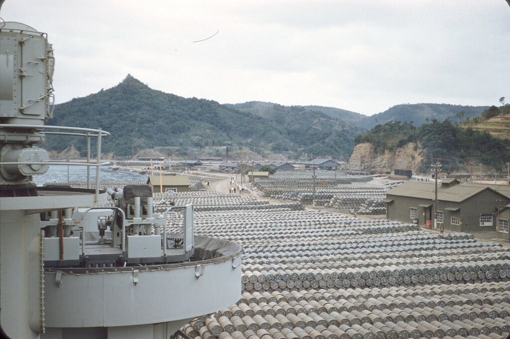 Japan (Yokosuka and Sasebo), 1954.