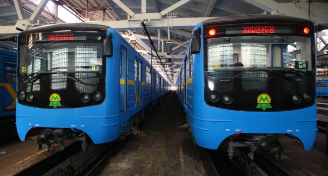 Киев получит еще 15 модернизированных вагонов метро следующей весной
