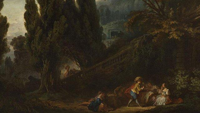 Картины художника Фрагонара в6млневро найдены спустя 200 лет
