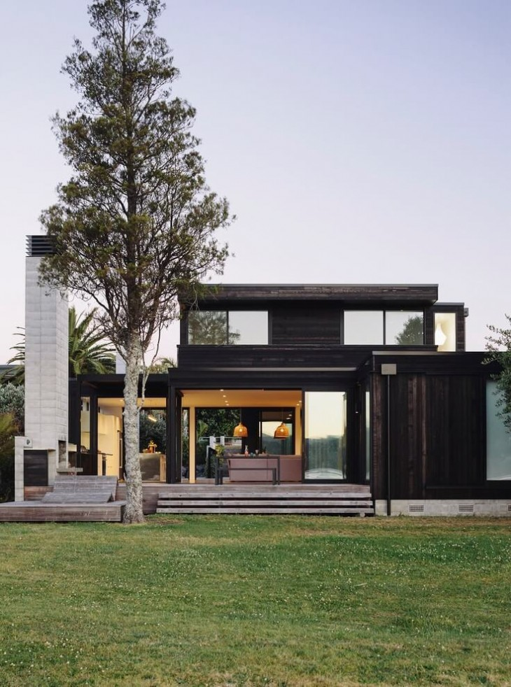 The brief was to simply better connect the layout of the existing house with the views and outdoor l