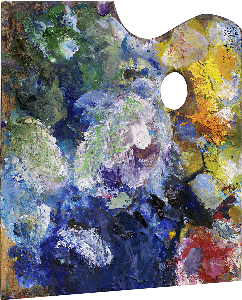Palette of Marc Chagall Since 2007 photographer  Matthias Schaller  has photographed raw, abstract p