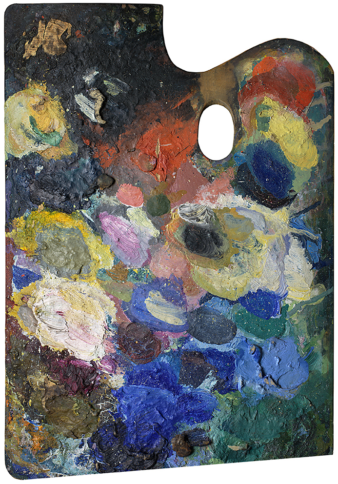 Palette of Wassily Kandinsky, 2007, 190x156cm, Copyright: Matthias Schaller,Lenbachhaus, Munchen;