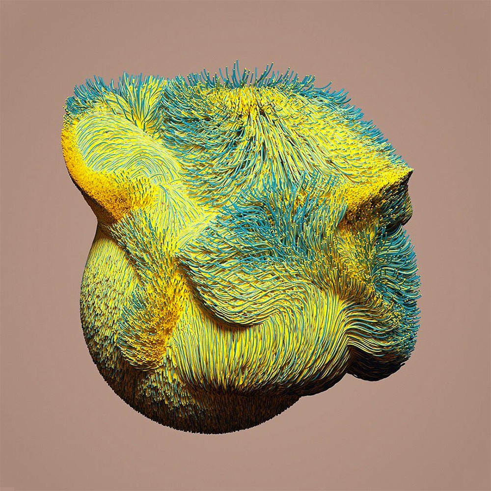 Colourflow: Dizzying Experimental Particle Animations and Renderings by David McLeod