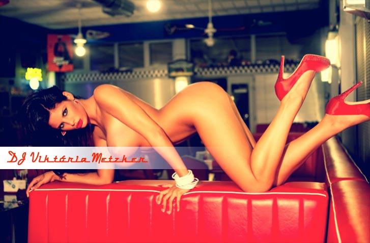 сексуальный диджей Виктория Метцер / DJ Viktória Metzker by Pál Nánási - Playboy Hungary september 2010