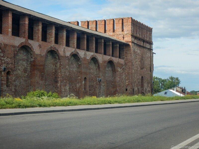 Башня Волкова (Семёновская), Смоленская крепость, Смоленск