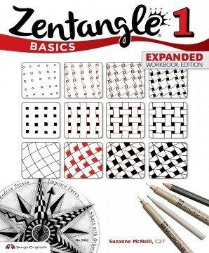 Титульная страница первого журнала по Зентангл •Сюзан Мак Неил, таких журналов уже больше 12 номеров.