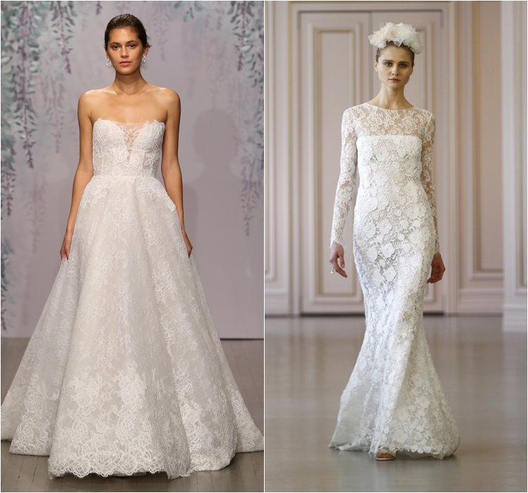 Кружевные свадебные платья 2016 фото 15