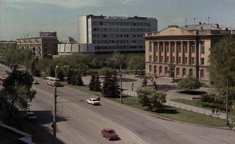 Здание Челябинской областной универсальной научной библиотеки