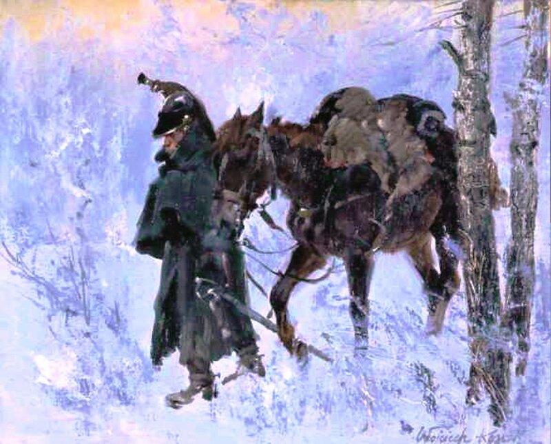 В задумчивости. 1812 год. Войцек KOССAК (2).jpg