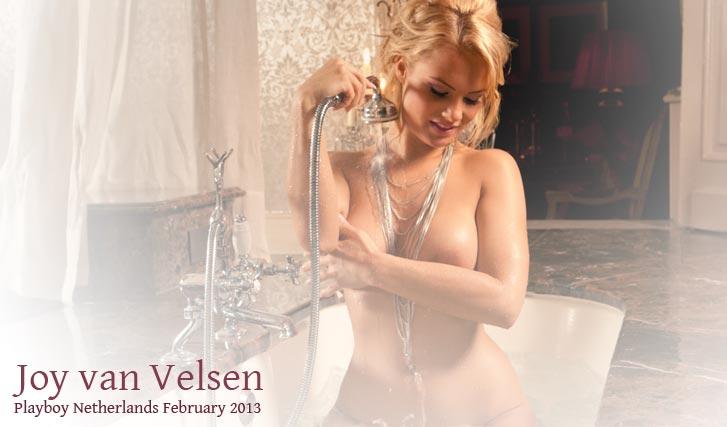 Joy van Velsen - Miss February 2013 Playboy Netherlands