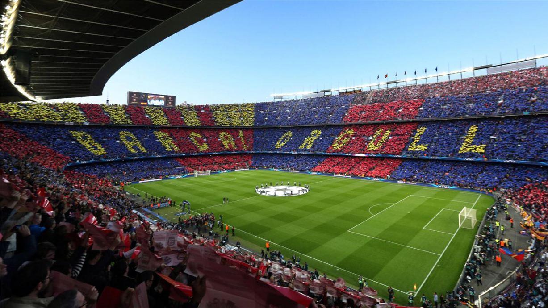 Soccer tifos / Гигантские баннеры футбольных болельщиков со со стадионов по всему миру - Barcelona