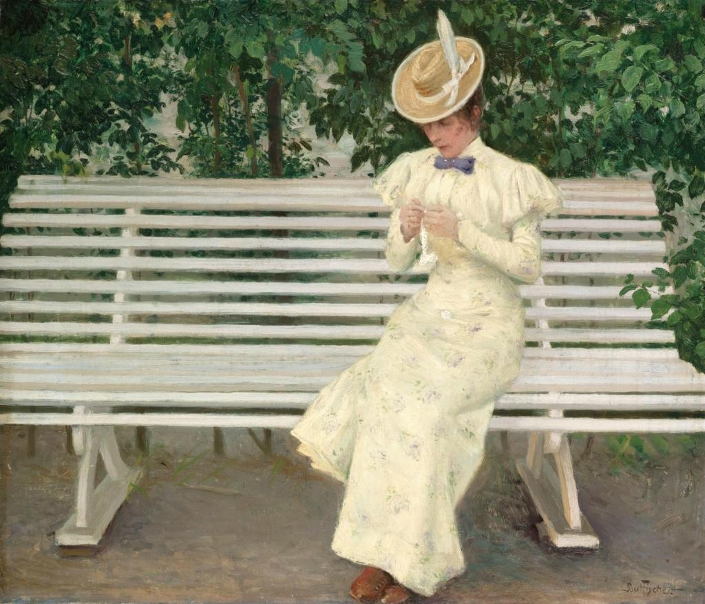 ���� �� �������� (Lady On A Bench)