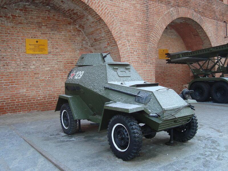 Горьковчане - фронту. Бронеавтомобиль БА-64