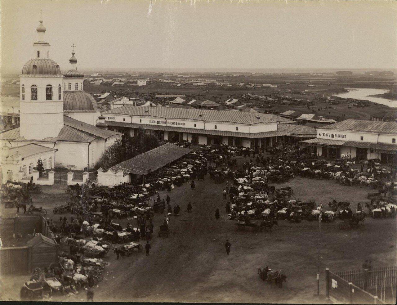 Курган. Овощной рынок