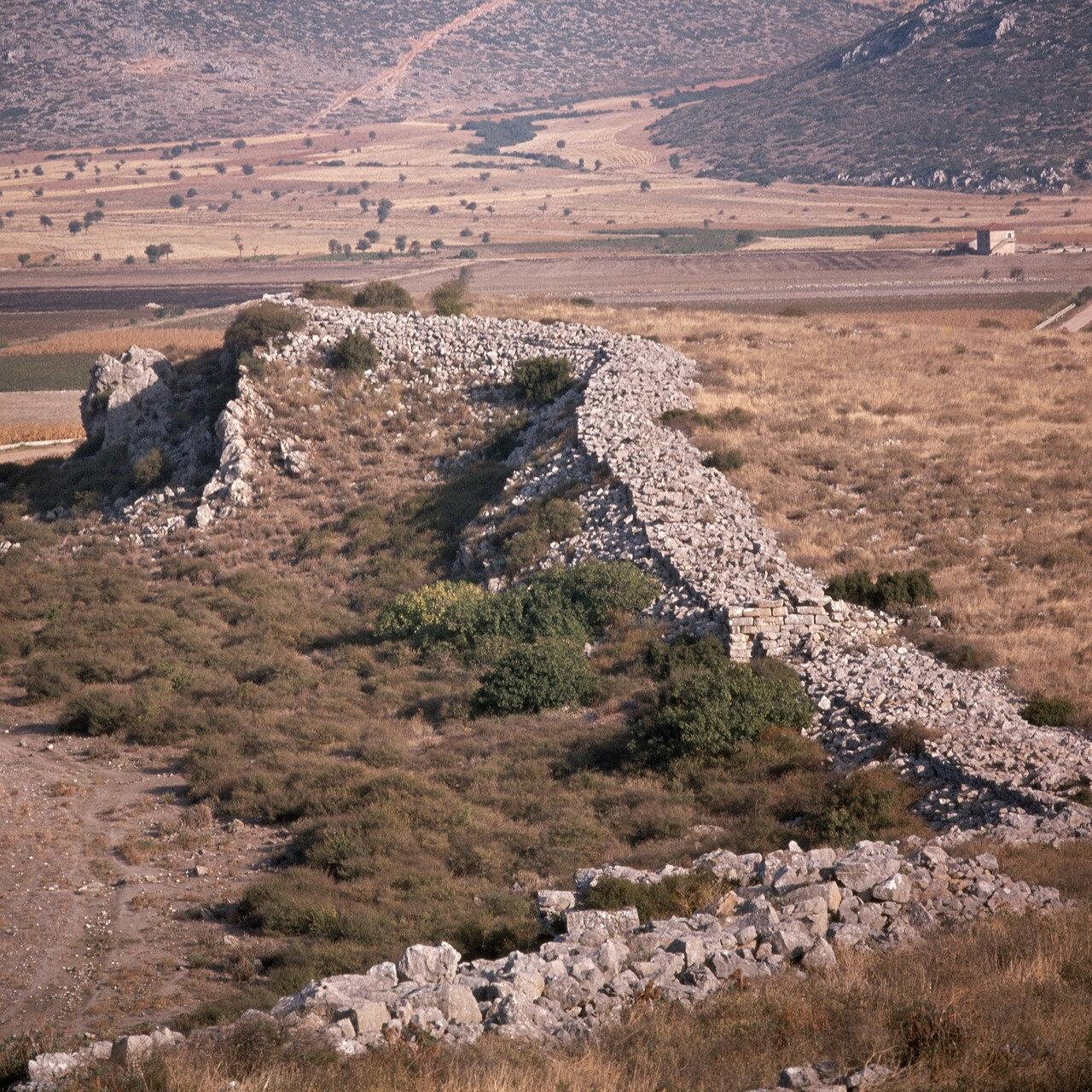 Арне. Микенская цитадель Гла. Восточное крыло