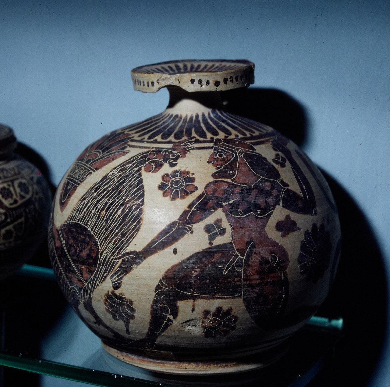 Коринфский арибалл для парфюмерии.  600 г. до н.э.