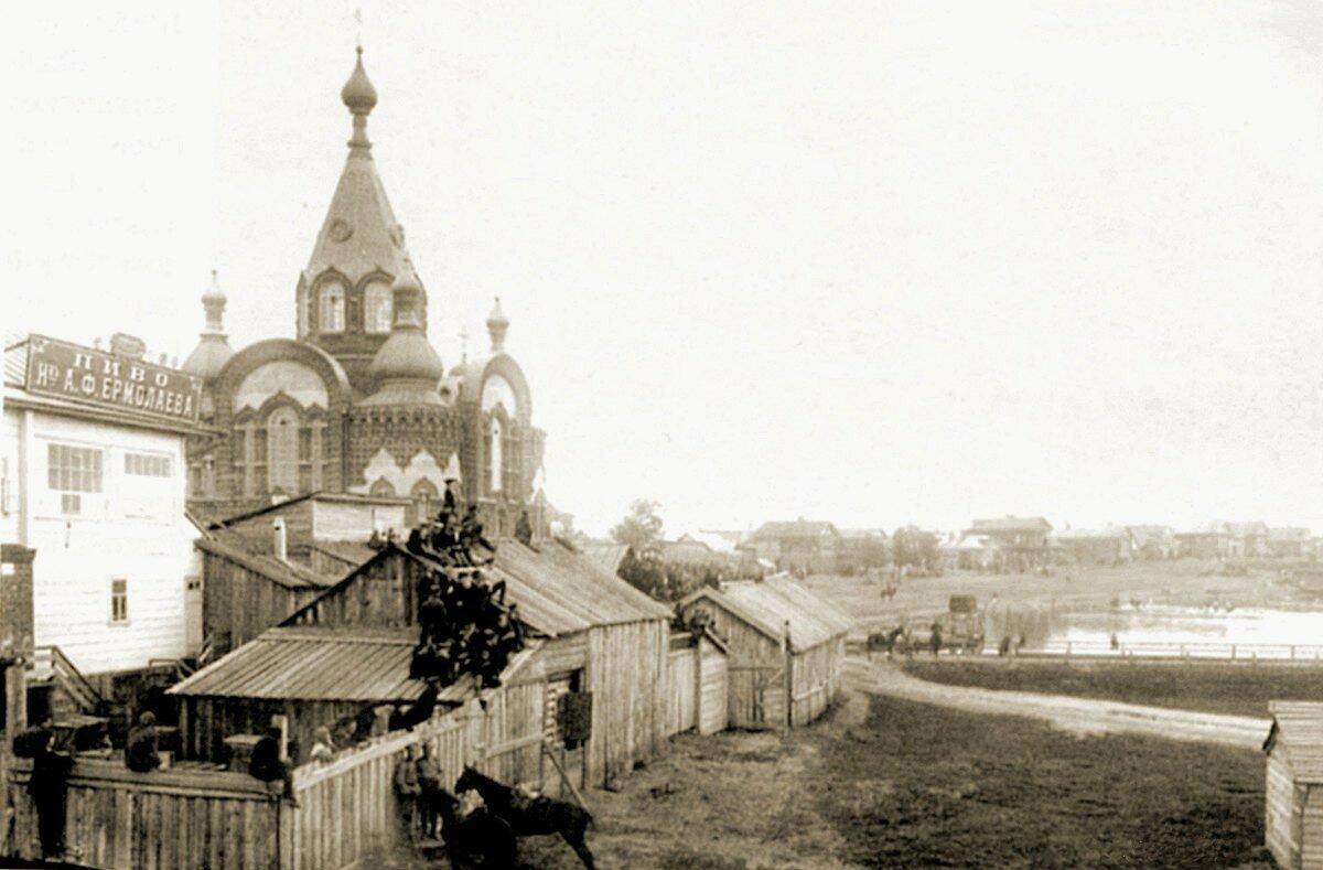 Село Гордеевка. Владимирская церковь
