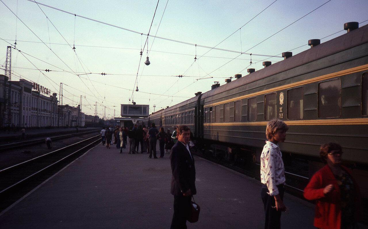 Иркутск. Перрон вокзала