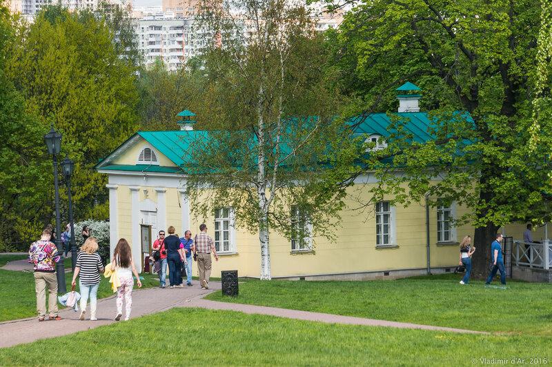 Дворцовый павильон 1825 года. Коломенское.