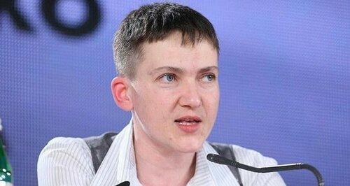Надежда Савченко поддержит амнистию ополченцев Донбасса
