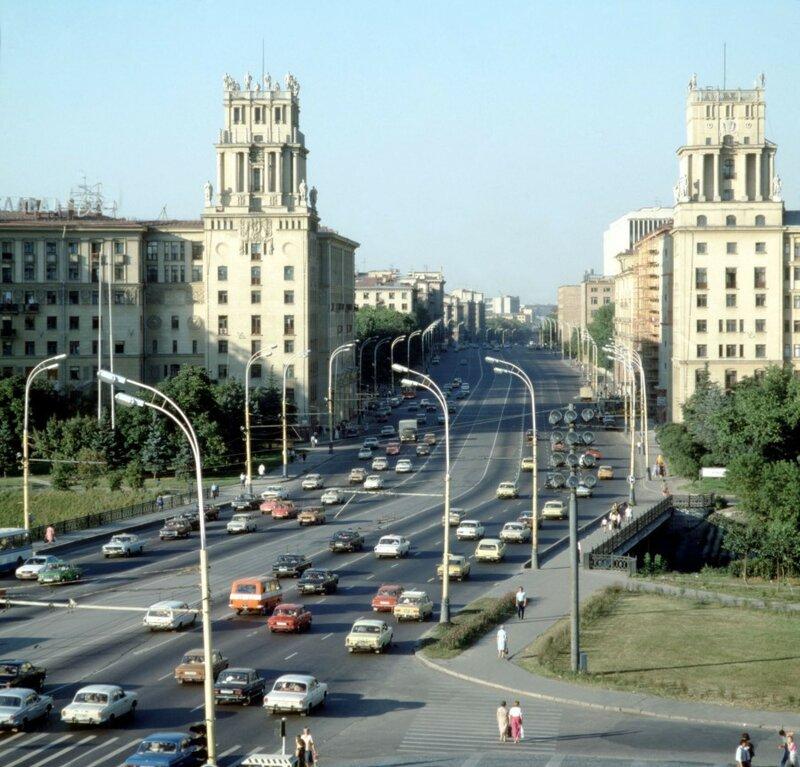 1986 Москва, Ленинский пр-т, ИТАР ТАСС.jpg