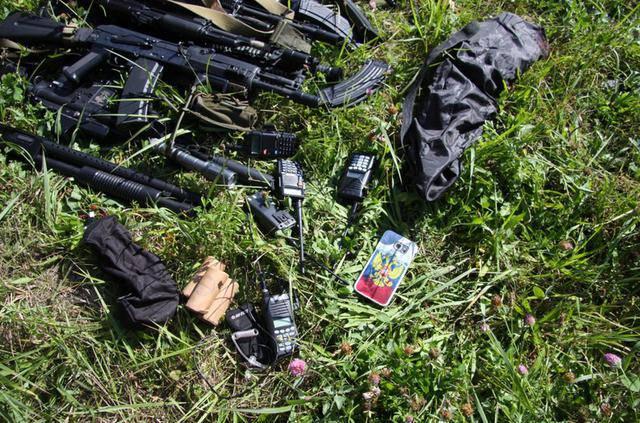 Полиция безопасности Латвии разогнала игроков в страйкбол в российской военной форме. ФОТО