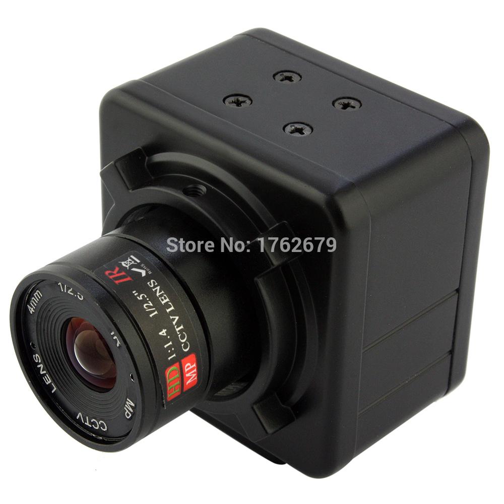 И последние решение — это приобрести в интернет магазине индустриальную камеру, работающею через USB точно так же, как и веб камера, есть возможность легко заменить объектив на любой тип, подобрать нужное разрешение и частоту кадров, так же можно найти подобную камеру высокой светочувствительности для ночных съёмок, или высокого разрешения.