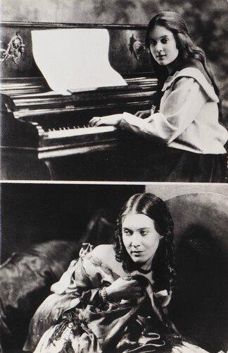 Любовь Орлова - студентка Московской консерватории 1919 год