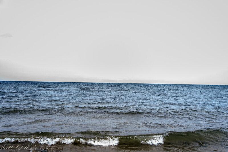 Туманный берег Байкала