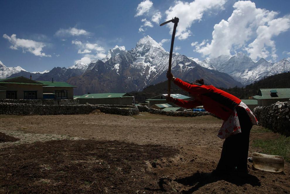 20. Колоритный знахарь. (Фото Navesh Chitrakar | Reuters):