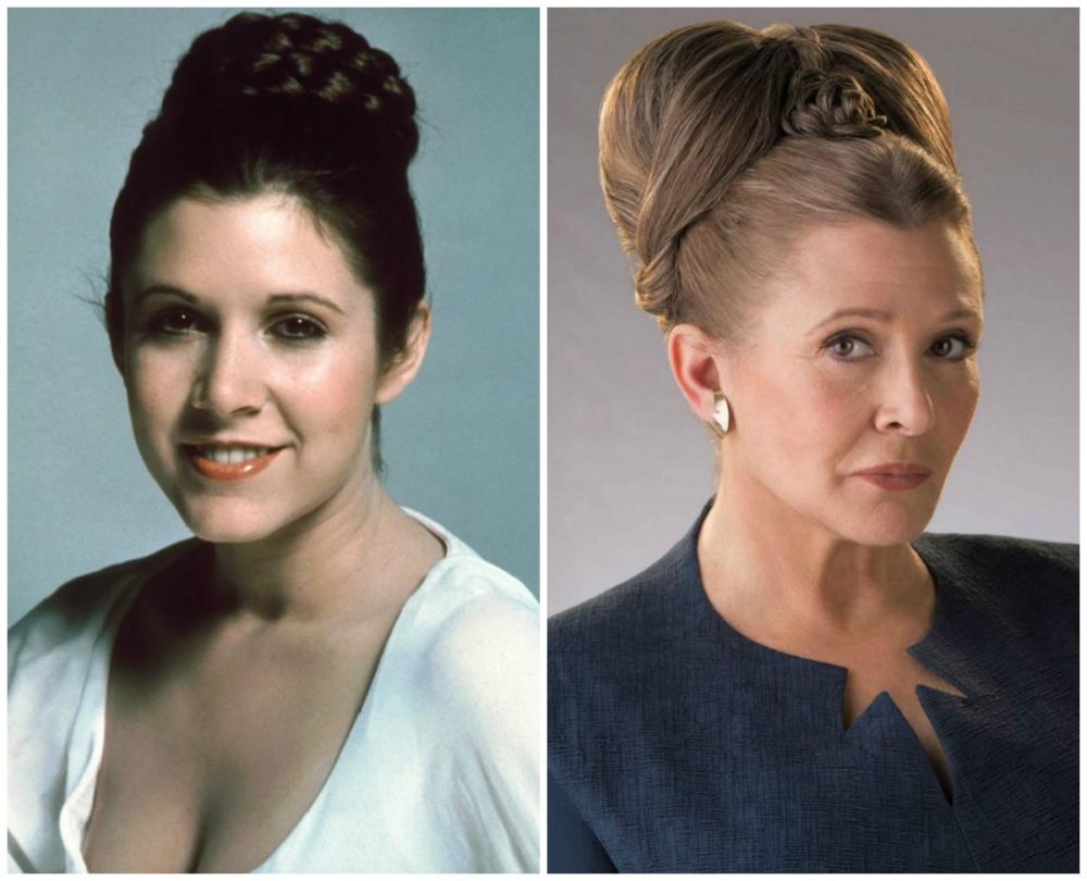 Кэрри Фишер Наиболее известная благодаря роли принцессы Леи в киносаге «Звездные войны», Фишер также