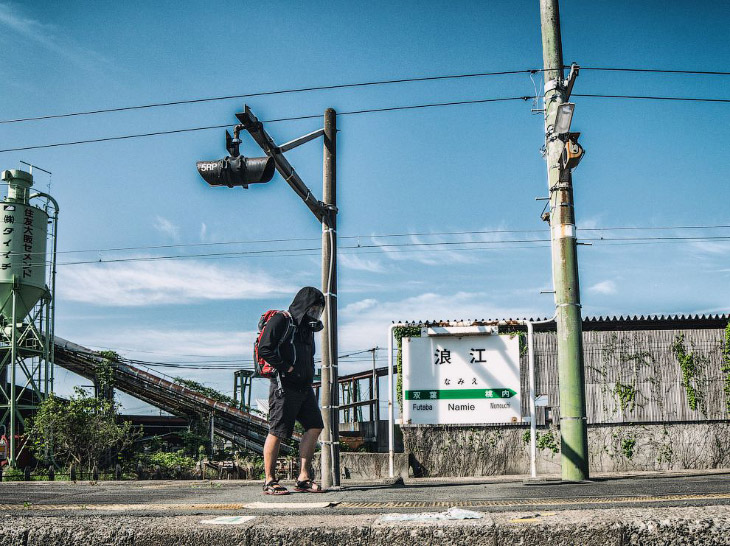 Прогулка по зоне отчуждения АЭС Фукусима (23 фото)