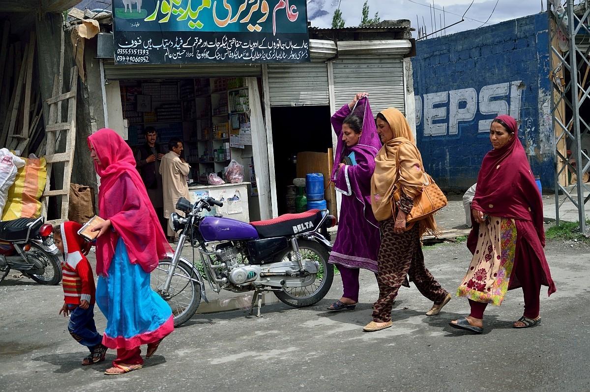 Демонстрация женской моды