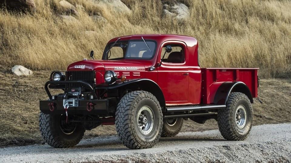 Оригинальная модель того самого первого Dodge Power Wagon, которая увидела свет в 1945, была создана