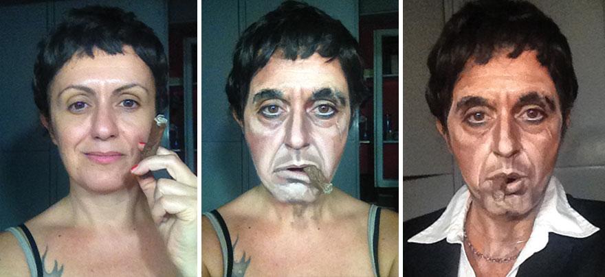 Тони Монтана из фильма «Лицо со шрамом».