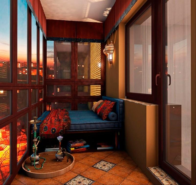 20 идей, как превратить маленький балкон в уголок для отдыха (21 фото)