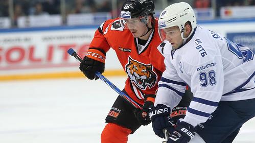 «Витязь» одержал первую победу вчемпионате КХЛ сезона