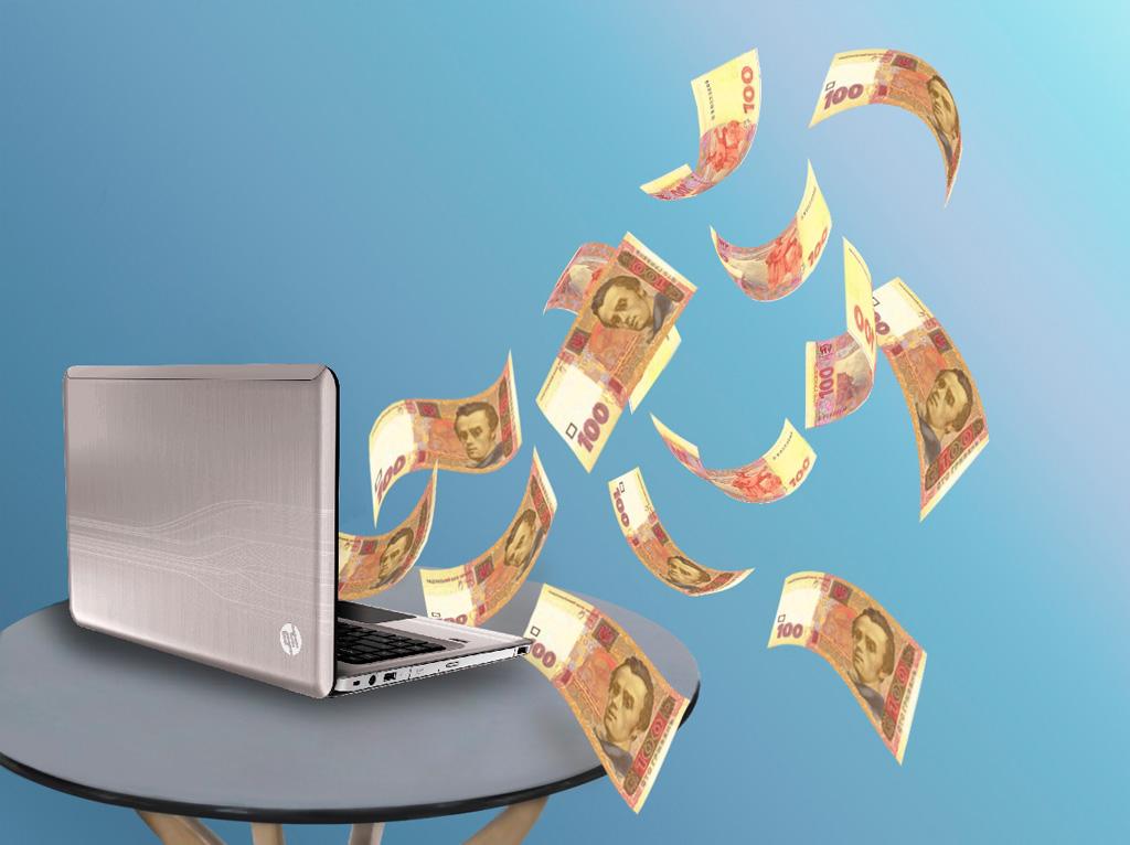 НБУ: Оплата электронными деньгами впервом полугодии подросла в1,6 раза